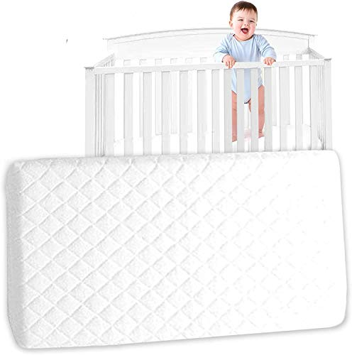 Thick Travel Cot Mattress to fit Red-Kite, Graco. 95 x 65 x 13 cm (FF) Quilted Breathable Anti allergenic - UK Made
