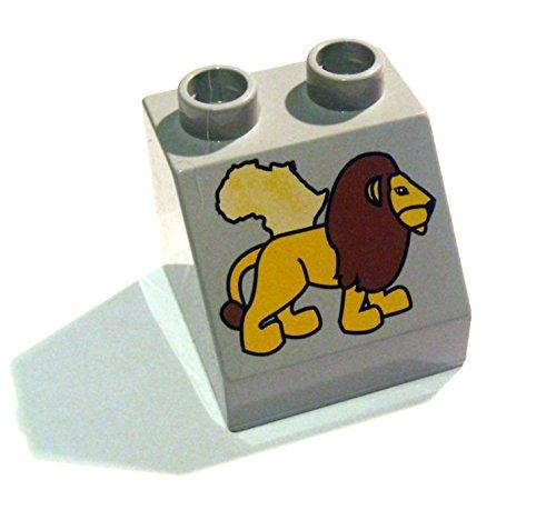 Lego Duplo Motivstein Löwe + Afrika