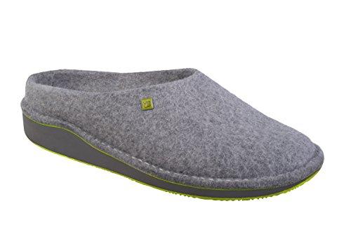 myVALE myVALE Wombat Grey Filzschuh mit nach Fußabdruck individuell optimiertem Fußbett