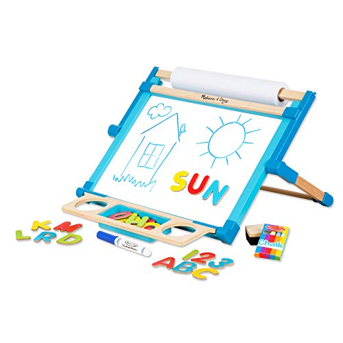 Melissa & Doug Deluxe Double-Sided Tabletop Easel review