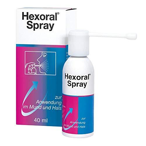 Hexoral Spray zur Anwendung im Mund und Hals, 40 ml Lösung