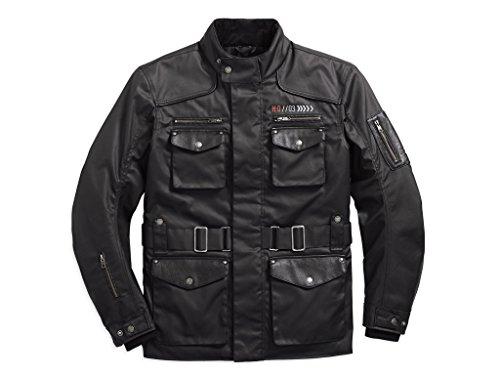 HARLEY-DAVIDSON Destination Waterproof 3/4 Textile Riding Jacke, 97222-18EM, M