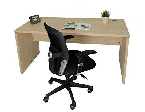 Mesa de Oficina. Euro 2000. Color Haya. 160x80 cm