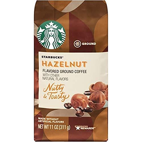 Starbucks Hazelnut, gamahlener Kaffee, 11 OZ