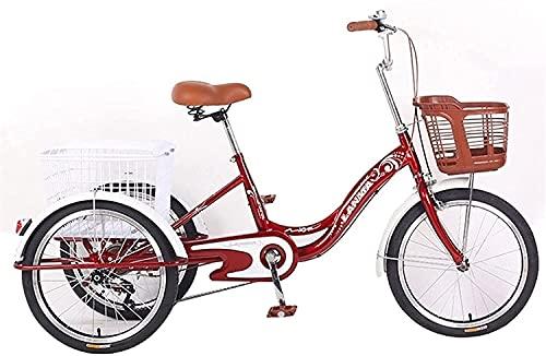 Triciclo de 3 ruedas para adultos - TRIKE CRUISER BICICLE, Mini triciclo...