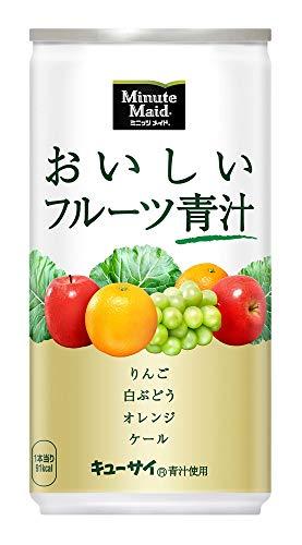 キューサイ『ミニッツメイド おいしいフルーツ青汁』