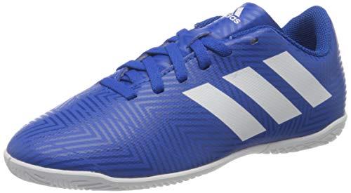 Adidas Nemeziz Tango 18.4 In J, Zapatillas de fútbol Sala Niños Unisex niño, Multicolor Fooblu Ftwbla Fooblu 000, 31.5 EU