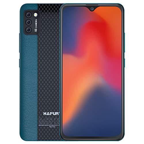 HAFURY 4G Smartphone ohne Vertrag, Dual Sim Handy, 5,5' HD Bildschirm, 2+16GB,128 GB erweiterbar, Face ID, Grün