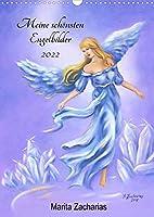 Meine schoensten Engelbilder - Marita Zacharias (Wandkalender 2022 DIN A3 hoch): Handgemalte Engelkunst als schoener und inspirierender Jahresbegleiter (Monatskalender, 14 Seiten )