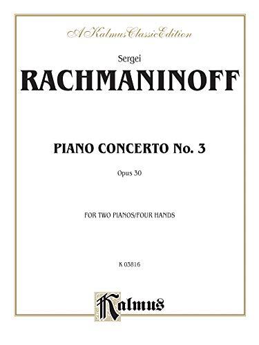 Piano Concerto No. 3 in D Minor, Op. 30 (Kalmus Edition)