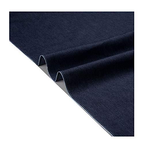 Denim stof Dun gedeelte Kledingstof Lente en zomer Jeans Zand release Schort Denim overhemd Elasticiteit Zacht 140 cm breed