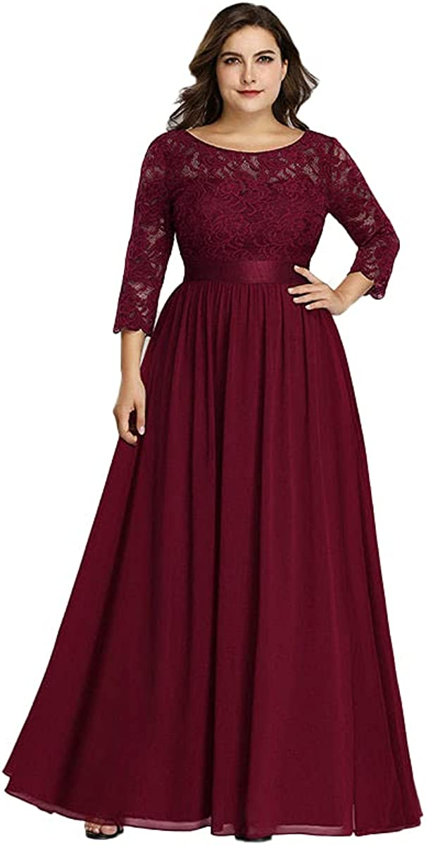 New Long Stage Host Evening Dress Plus Size Women's Clothing