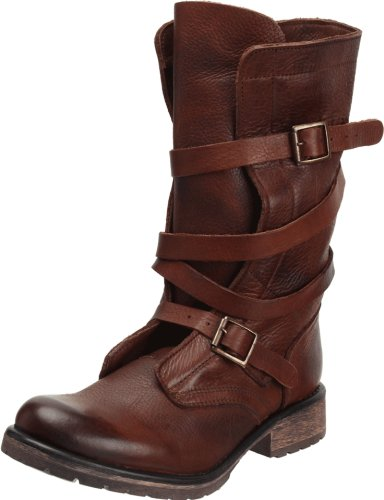 Steve Madden Women's BANDDIT, Brown Leather, 11 M US