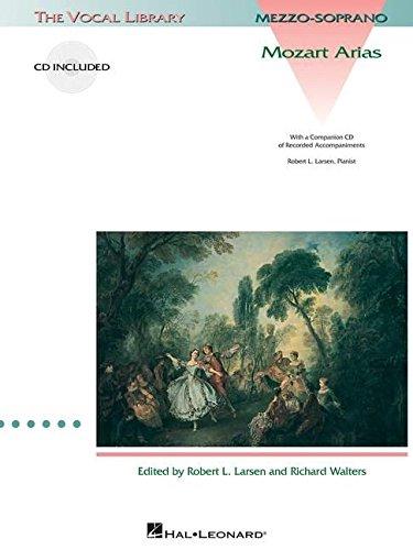 Mozart, Wa Arias Mezzo Soprano/Piano Book/Cd -Album-: Noten, CD für Klavier, Gesang (Mezzosopran solo) (Vocal Library)