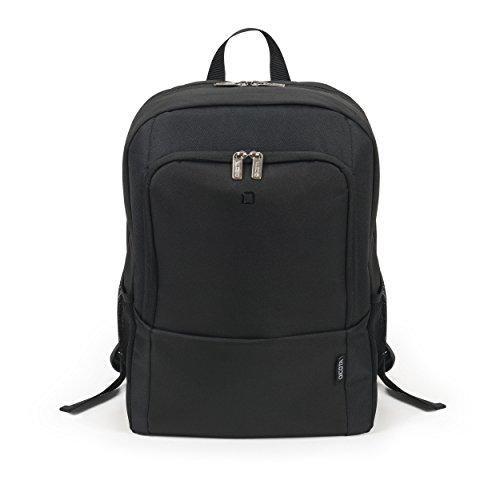 Dicota Backpack 15–17,3 Zoll BASE Rucksacktasche für Laptop, Computer und Tablet, Leichtgewichtige Laptoptasche, Schwarz