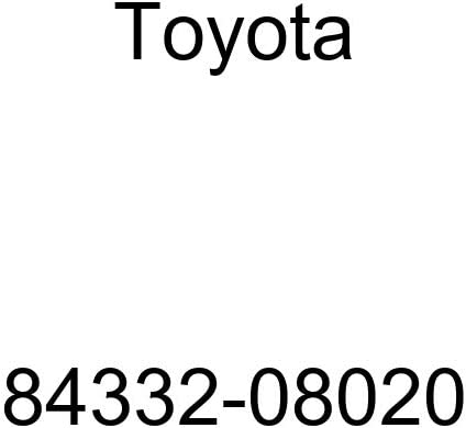 Toyota 84332-08020 Hazard 5% OFF Warning Assembly Signal Mail order cheap Switch