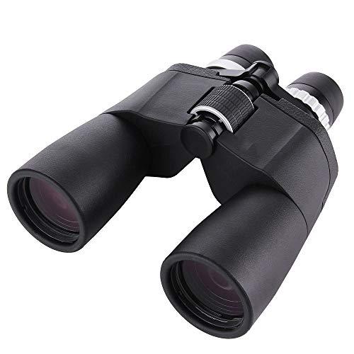 Binoculares impermeables compactos HD de alta potencia Telescopio Binocular zoom 8-21x50 al aire libre for adultos acampar Telescopio para la observación de aves recorrido de la caza Juegos de Fútbol