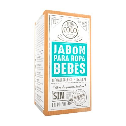 Jabon Para Ropa De Bebe marca Flor de Coco