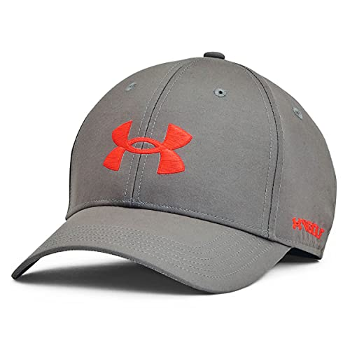 Under Armour Mens Golf96 Woven Baseball Cap - Concrete - One Siz