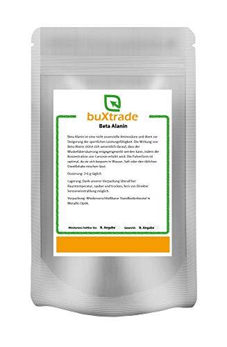 1 kg Beta Alanin Pulver | Ausdauer | Carnosin Booster | Kraft | Nahrungsergänzungsmittel