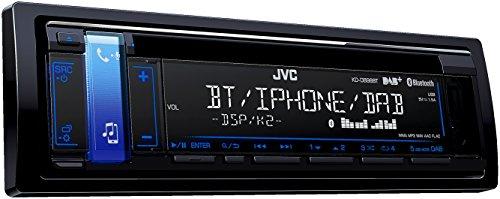 JVC KD-DB98BT CD-Receiver mit Digitalradio (DAB+) schwarz