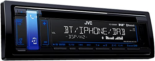 JVC KD-DB98BT CD-Receiver mit Digitalradio (DAB+) schwarz