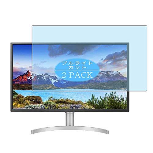 VacFun 2 Piezas Filtro Luz Azul Protector de Pantalla Compatible con LG 32UL750-W 31.5' Display Monitor, Screen Protector...