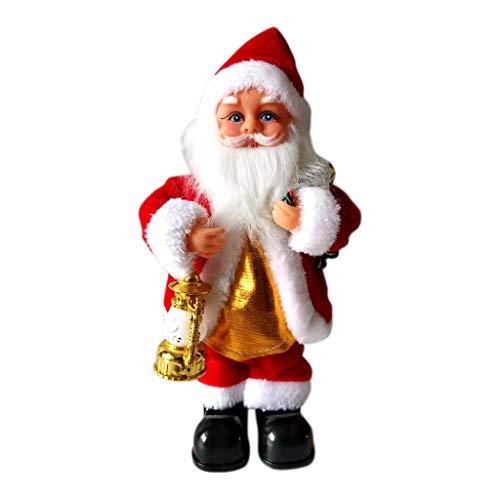 Twocc-Weihnachten, Weihnachten Elektrische Boke S Axt Gitarre Musik Weihnachtsmann Dekoration Ornament