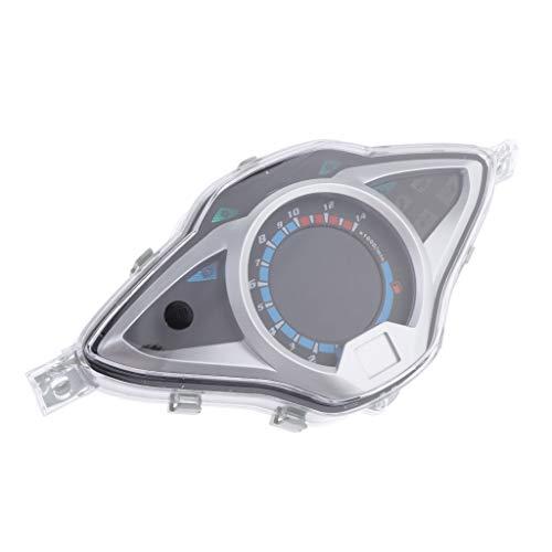 Gazechimp Tacómetro de Motocicleta Medidor de Kilometraje para Motocicleta, Hecho de Plástico ABS
