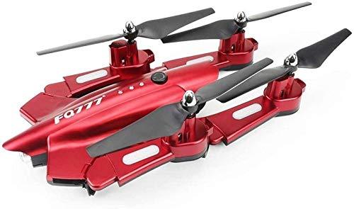 aipipl Flying WiFi FPV Camera Plegable, Gran Angular Fotografía aérea Avión de Altura Fija Cámara de 0.5MP Juguete de Control Remoto para niños Principiantes
