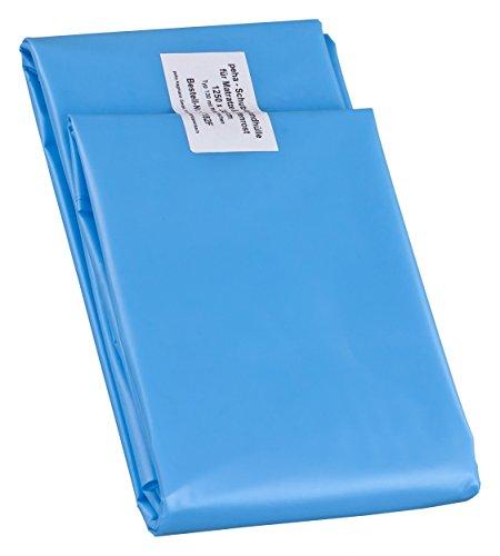 haggiy Matratzenhülle - Schutzhülle extra stabil für 100 cm breite Matratzen