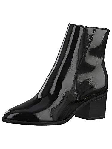 Tamaris Damen Stiefelette 1-1-25049-25 018 schwarz Größe: 38 EU