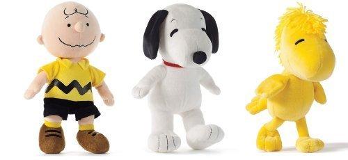 Peanuts Charlie Brown, Snoopy & Woodstock Set - 10