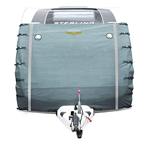 Caravan Defender Universal Front Towing Cover | Protector Covers Accessories | GREY