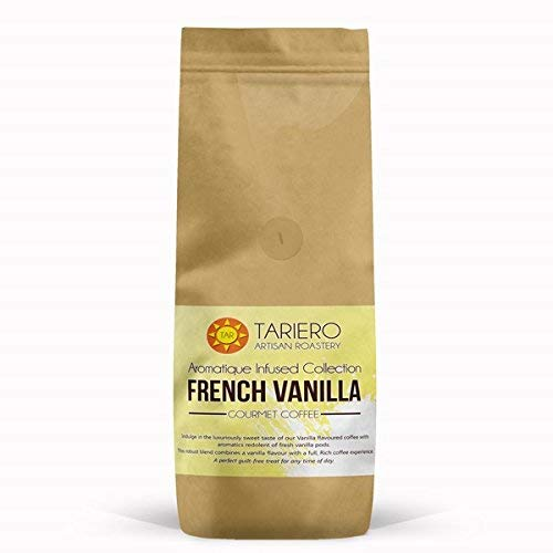 Tariero's French Vanilla Flavored Coffee   Medium Grind Filter Coffee 250G