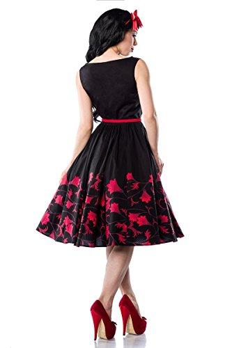 50er Jahre Rockabilly Kleid mit mit schönem Blumenmuster - 2
