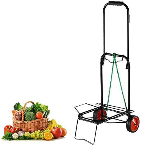 Cart Camping Luggage Folding Trolley Lightweight Travel Easy Household Groceries Pull Rod POrtable Trolley Service Trolley