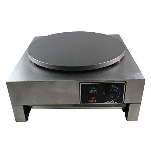 Crepera profesional para máquina de crepes (3000 W, diámetro 40 cm)