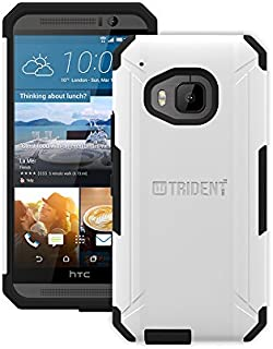 Trident Aegis Series Case for HTC One M9 White and Black AG-HTM900-WT000