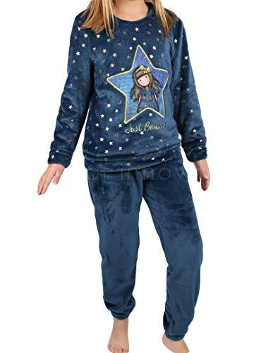 SANTORO LONDON - Pijama Santoro GORJUSS NIÑA Niñas Color: Azul Talla: 8