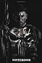 Notebook: Jon Bernthal As The Punisher , Journal for Writing, College Ruled Size 6