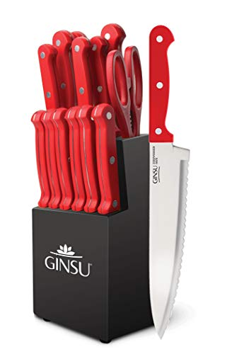 GINSU Kiso Dishwasher Safe Red Block ( Best Seller )