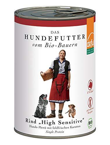 defu Hund High Sensitive- Menü Rind getreidefrei 410 g