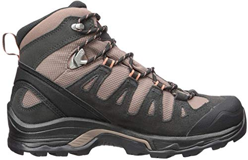Salomon Quest Prime GTX W, Botas de Senderismo para Mujer, Marrón (Deep Taupe/Phantom/Tawny Orange), 40 2/3 EU