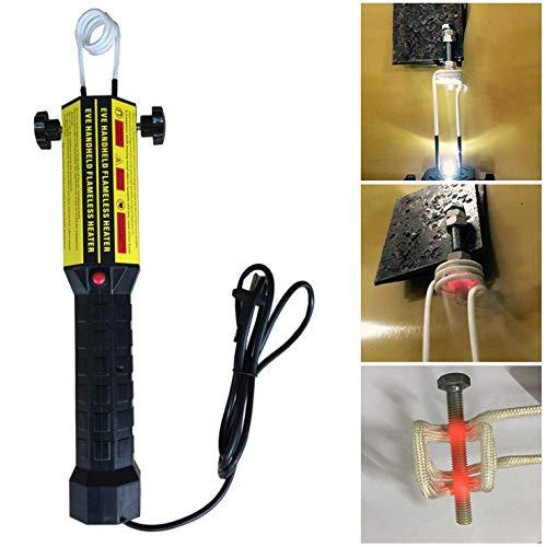 Autowerkstatt,Magnetisches Induktionsheizer-Set,220V 1000W mit Kleiner Handheld-Induktionsheizer, Flammenlose Wärme Zubehör zum Schrauben, Erhitzen und Abschalten UNJ