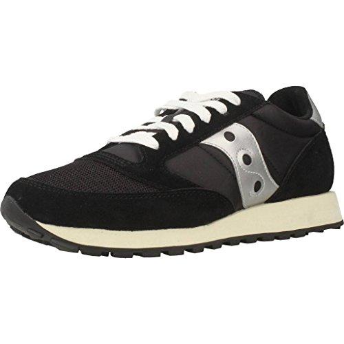 Saucony Jazz Original Vintage, Sneaker Donna, Black White 10, 39 EU