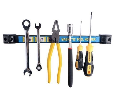 2x magneetstrip gereedschaplijst 18 inch gereedschaphouder rail gereedschap houder 50 cm