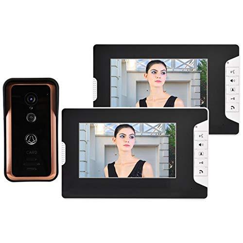 Monitor de videoportero con video con cable, para visión nocturna, para(European standard (100-240v))