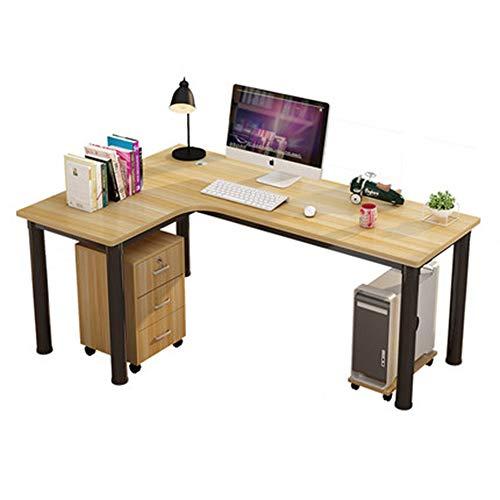 L-förmiger Schreibtisch, Gaming-Computer-Eckschreibtisch PC Studio Table Workstation für das Home Office, 120 cm (L) * 80 cm (B) * 75 cm (H)