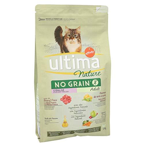 ULTIMA Nature alimento para gatos esterilizados con buey bolsa 1.1 Kg